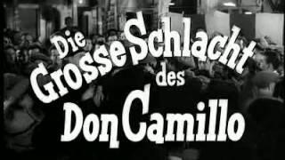 Die große Schlacht des Don Camillo (deutscher Trailer) mit Fernandel