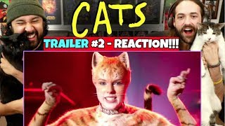 CATS - New TRAILER (#2) | REACTION!!!