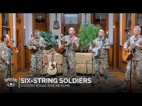 Six-String Soldiers - Country Roads, Take Me Home (Acoustic Cover) // Country Rebel HQ Session