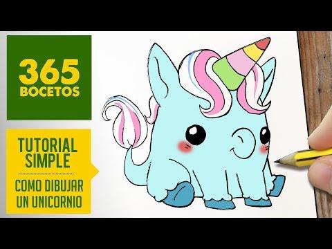 Unicornios Animados Tiernos Y Kawaii En Imágenes Para Colorear