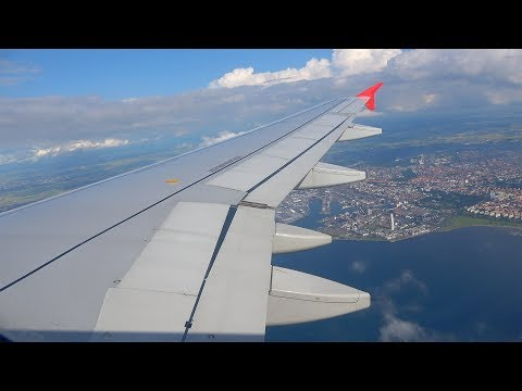 VERY SCENIC | Austrian Airlines Airbus A320-200 Landing + Taxi at Copenhagen Airport (CPH)