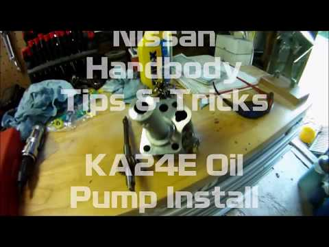 Nissan KA24E Oil Pump Install (2018) - PakVim net HD Vdieos