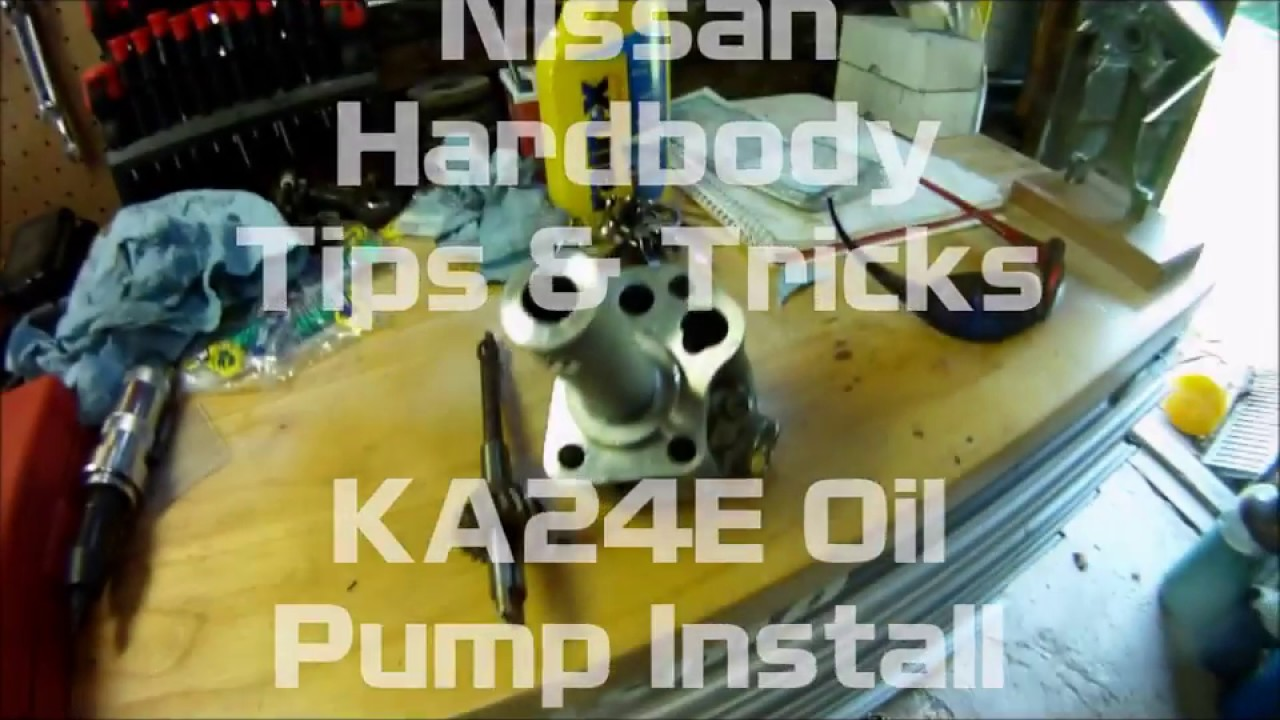 hight resolution of nissan ka24e oil pump install 2018 nismo d21