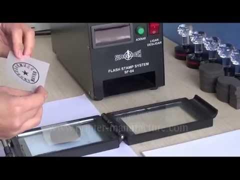 Photosensitive Seal Machine Rubber Stamp Machine Flash Stamp Machine