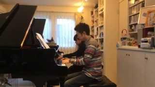 アシタカせっ記(もののけ姫より) ピアノ連弾(Piano Duet )