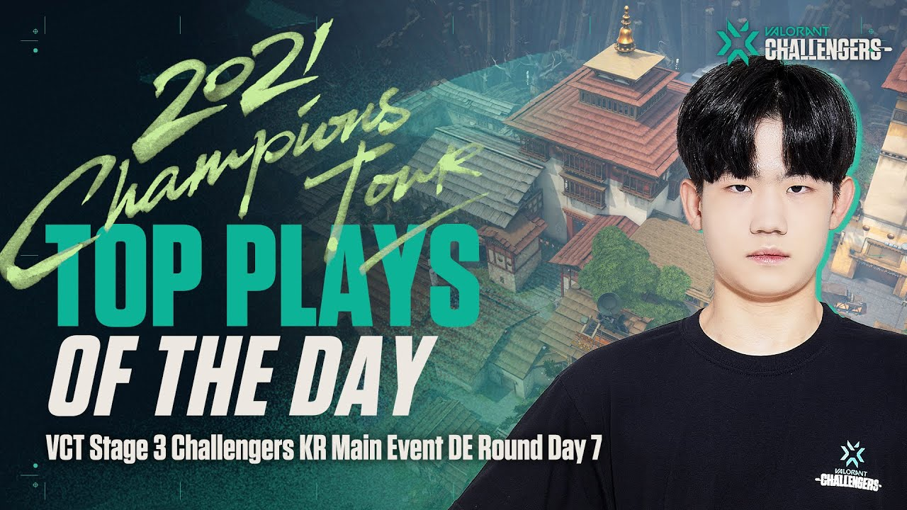 NOX UdoTan   Top Plays of the Day   Main Event Day 13 DE Round 07.29   VALORANT Challengers KR