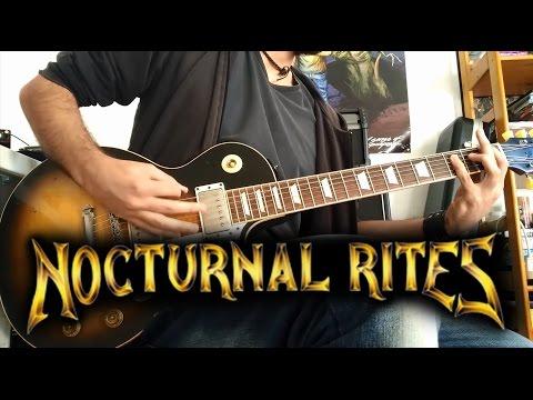 Nocturnal Rites - Awakening (Guitar Cover)
