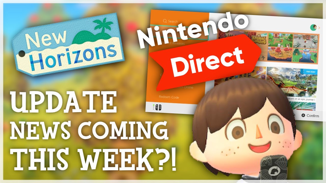 Animal Crossing New Horizons - UPDATE NEWS This Week?!