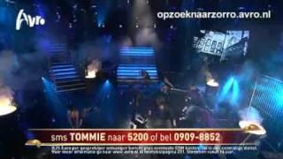 Op zoek naar Zorro | Liveshow 3 | Tommie - Cool