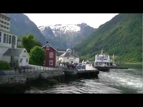 On the shores of the Sognefjord in balmy Balestrand, Norway