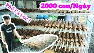 Phát sốt xe Cá Lóc Nướng ngày vía thần Tài ngày bán 2000 con ngày