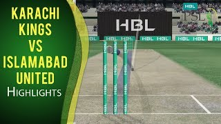PSL 2017 Match 10: Karachi Kings  v Islamabad United Highlights