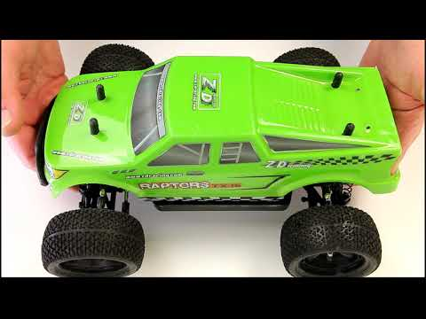 ZD Racing TX-16 RTR Brushless 1/16th Scale RC Car review