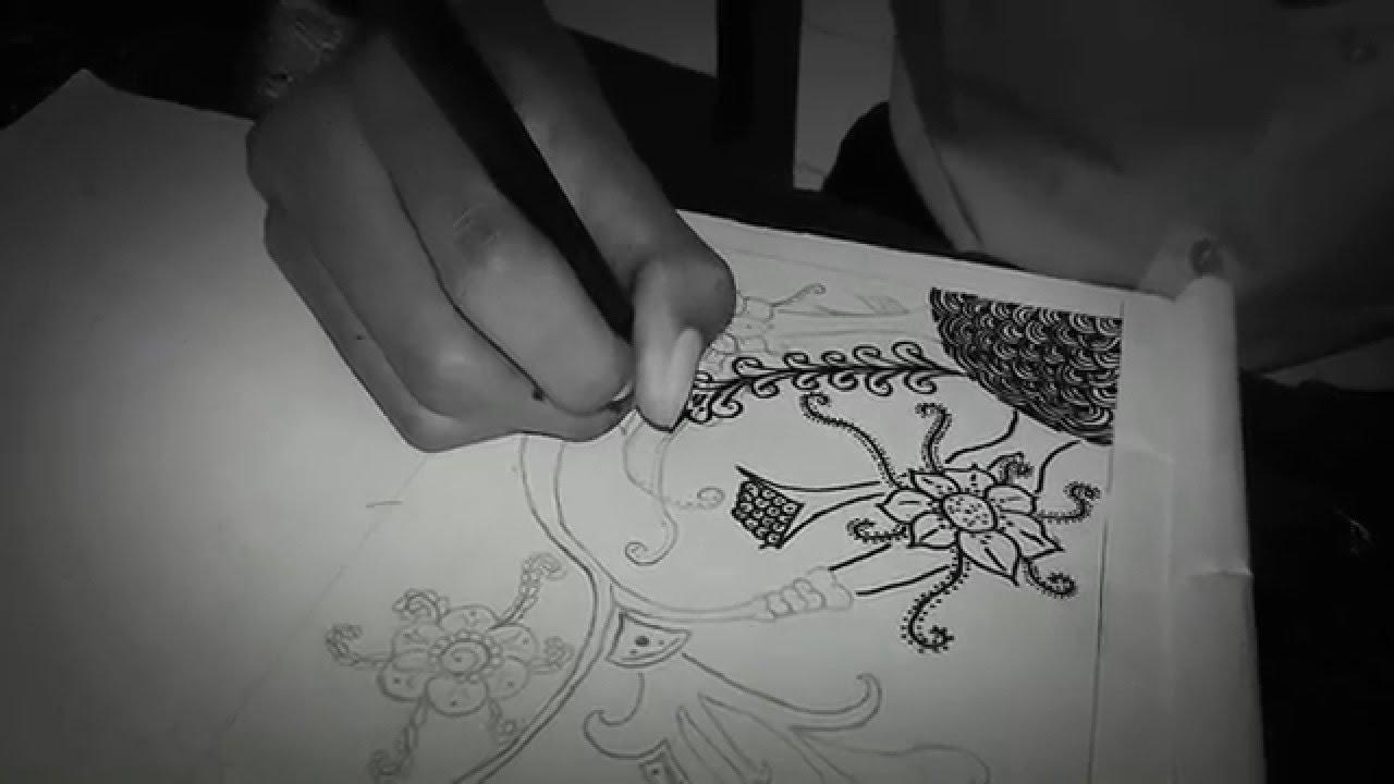 Sketsa Batik Flora Dan Fauna Sederhana Grosir Batik Solo