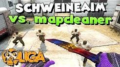 CS:GO - SCHWEINEAIM vs. mapcleaner! - 99Damage Liga S.6 Division 3.7 Spiel #04