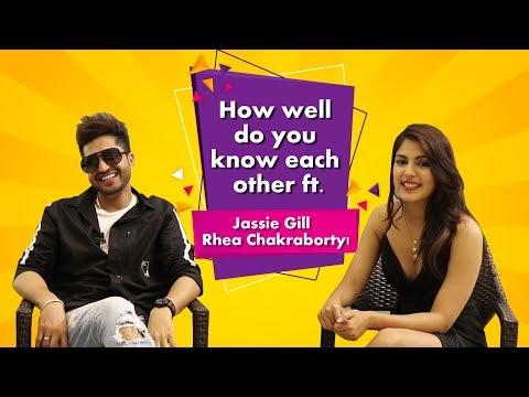 SURMA KAALA | Jassie Gill | Rhea Chakraborty | ENTERTAINING How Well Do You Know Each Other