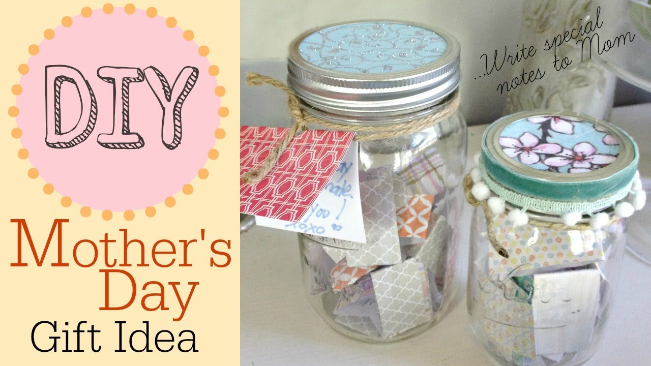 diy birthday gifts for mom from daughter