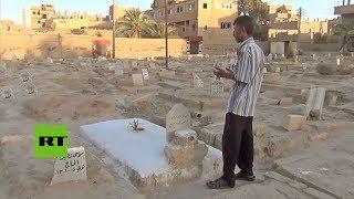 Tumbas donde antes había columpios: Los tétricos efectos del asedio del EI sobre Deir ez Zor