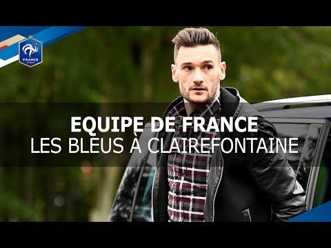 Equipe de France: les Bleus à Clairefontaine, reportage I FFF 2017