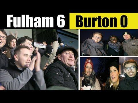 Fulham 6 Burton Albion 0   automatic still possible   Fulham Football Club