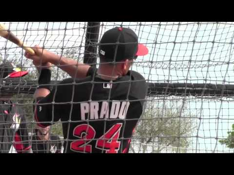 Miami Marlins Spring Training -1st Day Full Squad 2015
