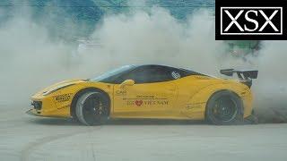 Cường Đô La Drift Ferrari 458 Italia Liberty Walk Ngay Trạm Xăng | Car Passion |