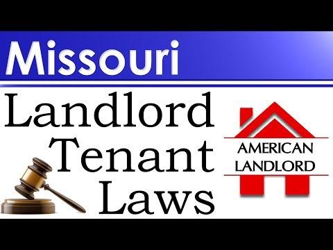 Missouri Landlord Tenant Laws | American Landlord
