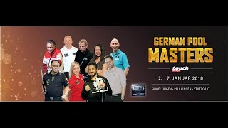 German Pool Masters TV Table 2 - powered by TOUCH German Tour & REELIVE