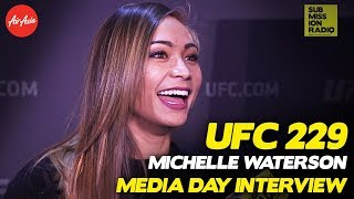 UFC 229: Michelle Waterson Expects Competitve