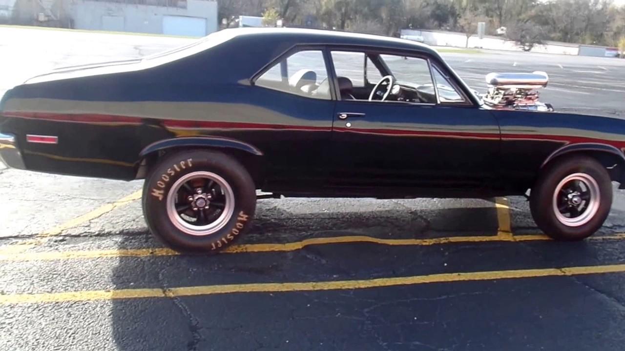 1970 chevrolet nova supercharged 355 black on black beast! for sale1970 chevrolet nova supercharged 355 black on black beast! for sale