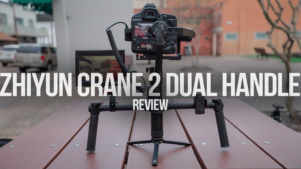 Zhiyun Crane 2 Dual Handle Amp Thumb Control Review Youtube