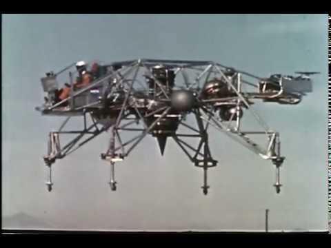 VT 2007 Bell Aerosystems Lunar Landing Research Vehicle (LLRV) 1964