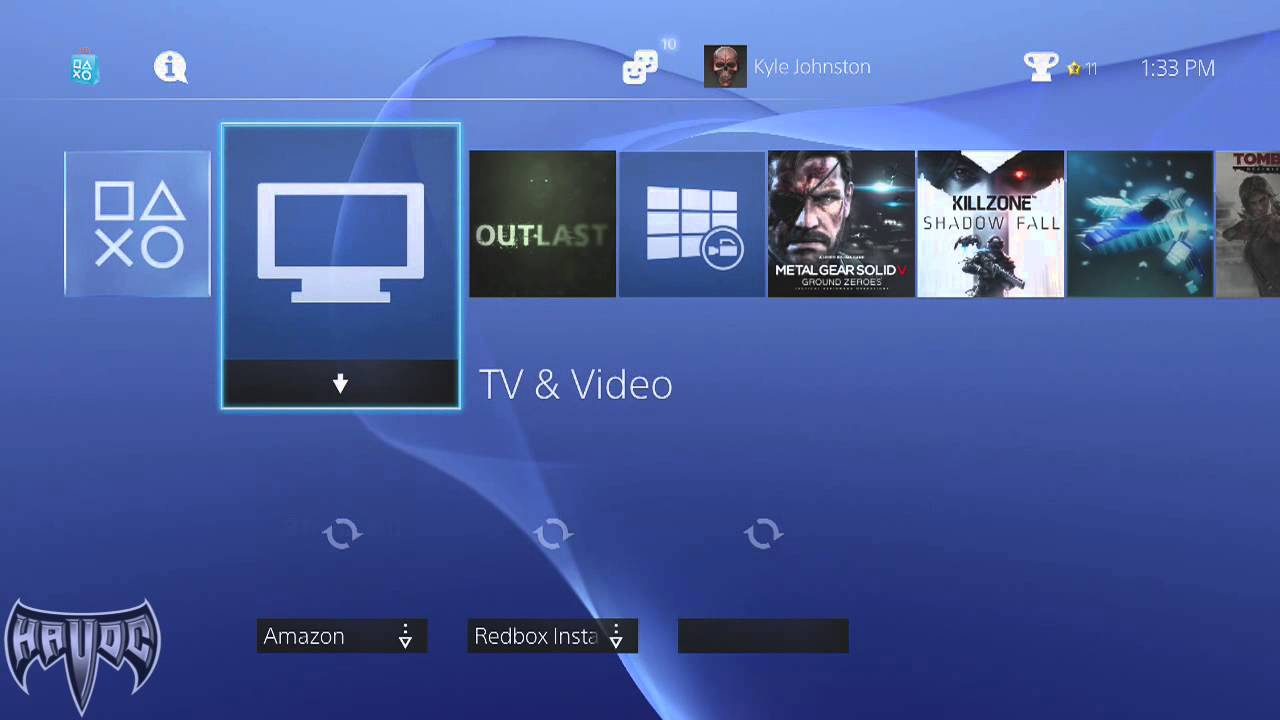 how to make screen smaller on ps4