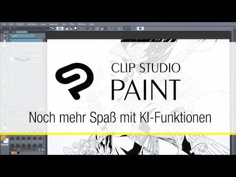 Neue KI-Technologie für noch mehr Spaß am Zeichnen!|CLIP STUDIO PAINT