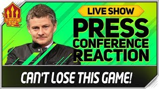 Solskjaer Press Conference Reaction! Manchester United vs Liverpool | Man Utd News