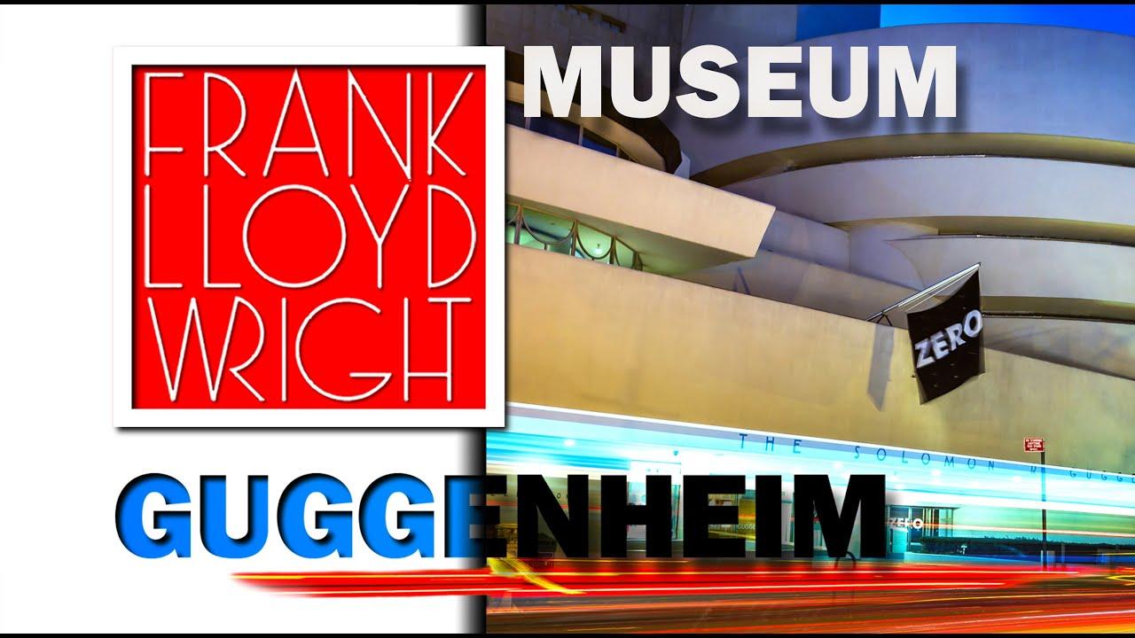 Frank lloyd wright guggenheim museum youtube for Franco piani di lloyd wright