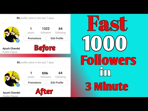 How To Get 1K Followers On Instagram In 5 Minutes Without Human Verification