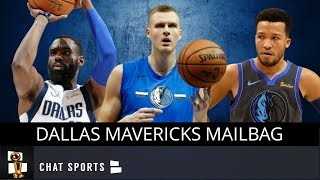 Dallas Mavericks Mailbag: Kristaps Porzingis, Mavs Playoff Odds & Tim Hardaway Jr.'s Impact