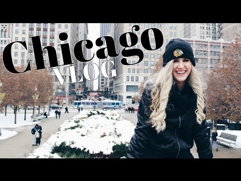 Christmas in Chicago VLOG