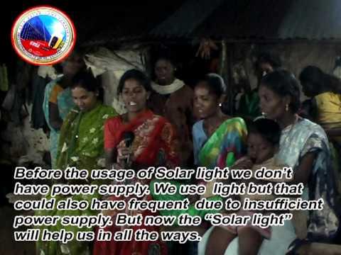 Solar lantern campaign