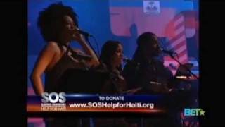 Robin Thicke & India.Arie - SOS Save Our Selves Help For Haiti Live