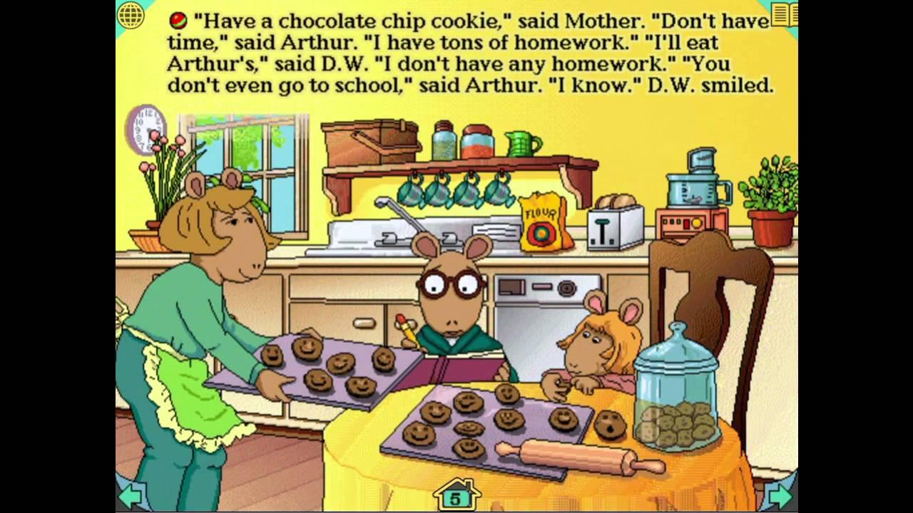 arthurs teacher trouble coloring pages - photo#20