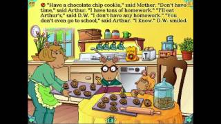 Singing Cookies - From Arthur's Teacher Trouble, by Wanderful interactive storybooks