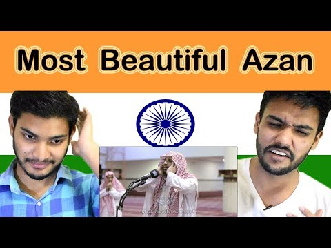 Indian reaction on Most Beautiful Azan | Muslim Prayer | Swaggy d