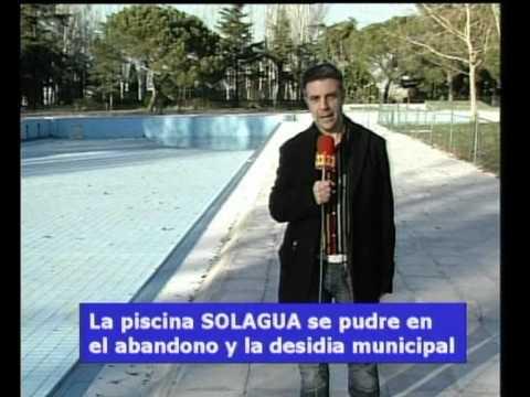 Solagua se pudre en la desidia municipal youtube for Piscina solagua leganes