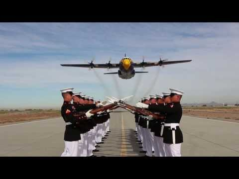 Silent Drill Platoon + Blue Angels = AMAZING VIDEO