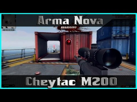 Zula BR - Arma Nova [Cheytac M200]