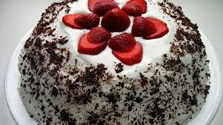 тортик из зефира с фруктами без выпечки
