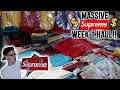 WE REALLY SPENT $15,000 ON SUPREME FW18 WEEK 1! IN HAND PICKUPS!