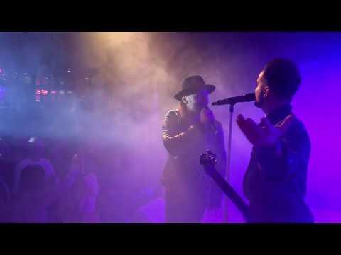 Live: Lukas Meijer - Light Me Up - Poland Eurovision 2018 - live at Stockholm Hard Rock Café